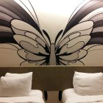 it has difference graphic in each room. love it