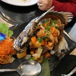 Thai Naramit - Whole Fish Sweet Chilli
