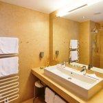 alle Badezimmer im Hotel sind neu renoviert