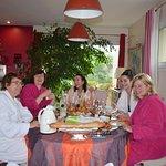petits déjeuners délicieux de Nathalie entre amies....