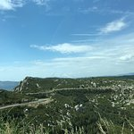 Looking west, towards Cassis