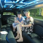 we were lucky as we were only ones in limo this time .