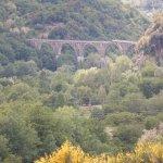 Lagonegro: particolare del vecchio ponte sulla ferravia