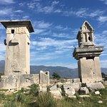 Yakındaki Xanthos Antik Kenti