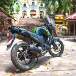 My good friend Yamaha FZ from Flamingo Travel