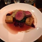 Angus beef fillet with sweetbreads