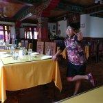 Restaurant in hotel tibet