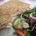 Fresh crab sandwich. Utterly delicious.