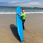 Harrison (Ripcurl) Fellows off to Carve up some waves