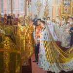 The best painting on display...the wedding of Nicholas and Alexandra