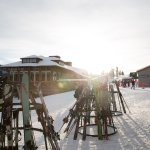 Two big day lodges with all the skier services your family and friends need..