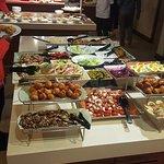 starters on buffet nights