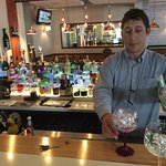 Steve the Ginologist/mixologist is a Master of his craft. So knowledgeable about Gin