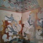 The famous 'Blue Monkeys' fresco