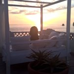 Master Room Terrace & Sunset View at Therasia Resort. Vulcano, Italy
