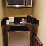 Microwave/Refrigerator nook