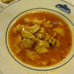 Tasteless fish in fish soup