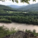Hike to Lovers Leap overlook on the AT in Hot Springs
