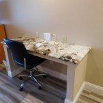 Desk area for Jr. Suite