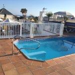 Rooftop mini pool