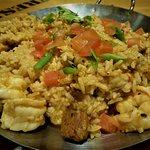 Spicy jambalaya. YUMMO!!!