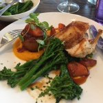 Chicken, broccoli, potato and Carrot purée