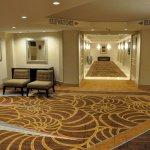 The 18th floor lobby