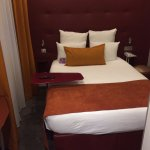 Rm 121, quiet and comfortable, though small.