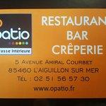 Menu a 24€ + 3€( pour le foie gras , fait maison