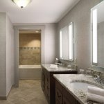 Presidential Suite oversized Bathroom