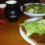 Gallete Complete and salad