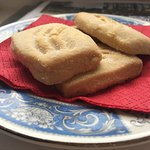 Yummy shortbread cookies for tea time