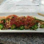 Ahi Tuna Tataki - not cheap, small portion, but very good