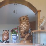 The Owls keep an eye on the dining room