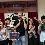 Team Foreigners escaped Gallery Heist @ M.D. Watson's Escape Rooms