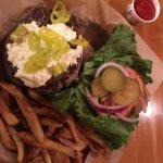 Lamb Burger & Fries