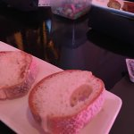 Gluten Free bread served before meal! This place is awesome.
