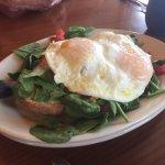 Eggs Bruschetta