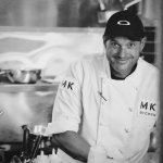 Chef Mitch loving his work!