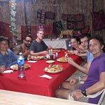 nuestro servicio en comedor en la isla naranjo chico cabaña iron