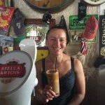 Always friendly service - serving the best Irish coffee in town - and Greek ice coffee (frappé)