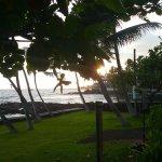 Across the street from the Kona Islander Inn