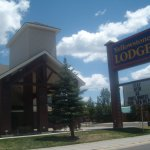Front entrance, Yellowstone Lodge