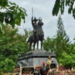 Statues at Huay Mongkol temple.