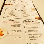 Wonderful all you can taste menu