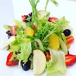 Healthy Salad with Fruit