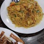 Singapore curry noodle