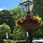 Flower basket in Palmers Square