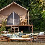 Spend an unforgettable night in our luxury jungle camp