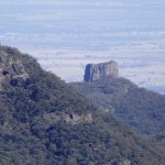 view from top back towards Narrabri